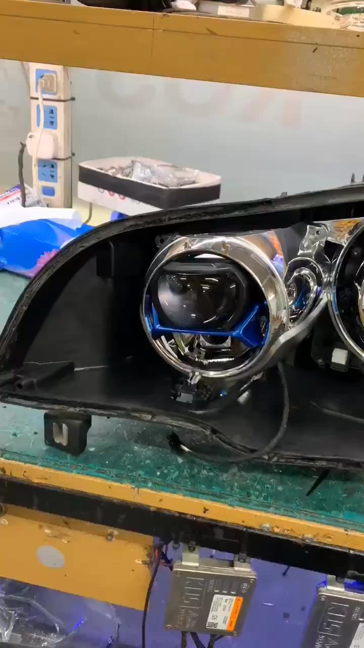 2020 جديد L81 2.5 بوصة 45w 4300K-6000K Bi جهاز عرض (بروجكتور) ليد عدسة المصباح اللون المزدوج ارتفاع منخفض شعاع سيارة الليزر العلوي ل لكزس سيارة