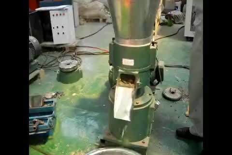 11Kw الطاقة الكهربائية 300-400Kg قدرة دليل تغذية ماكينة صنع الباليتات