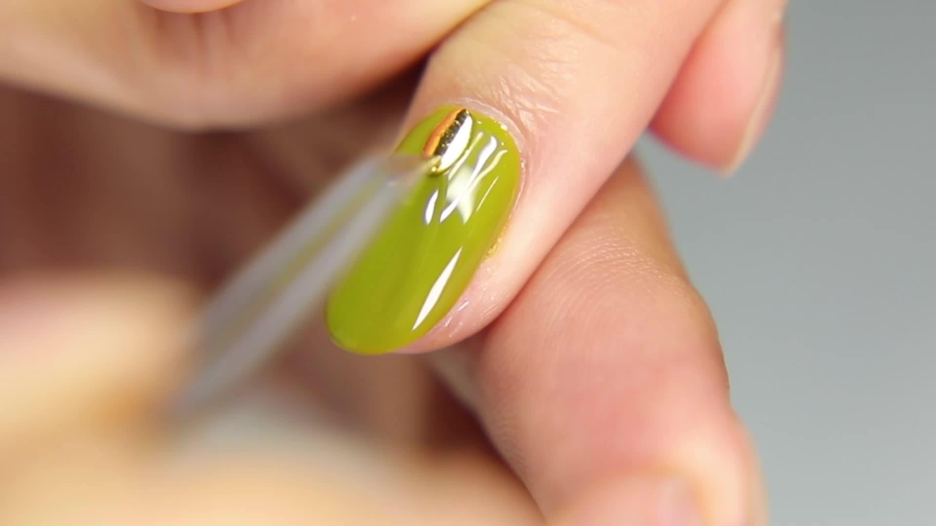 Di fissaggio Appiccicoso Del Gel Del Chiodo Polacco Aniya UV Gel Facile soak off Gel di Colore Forniture di Fabbrica