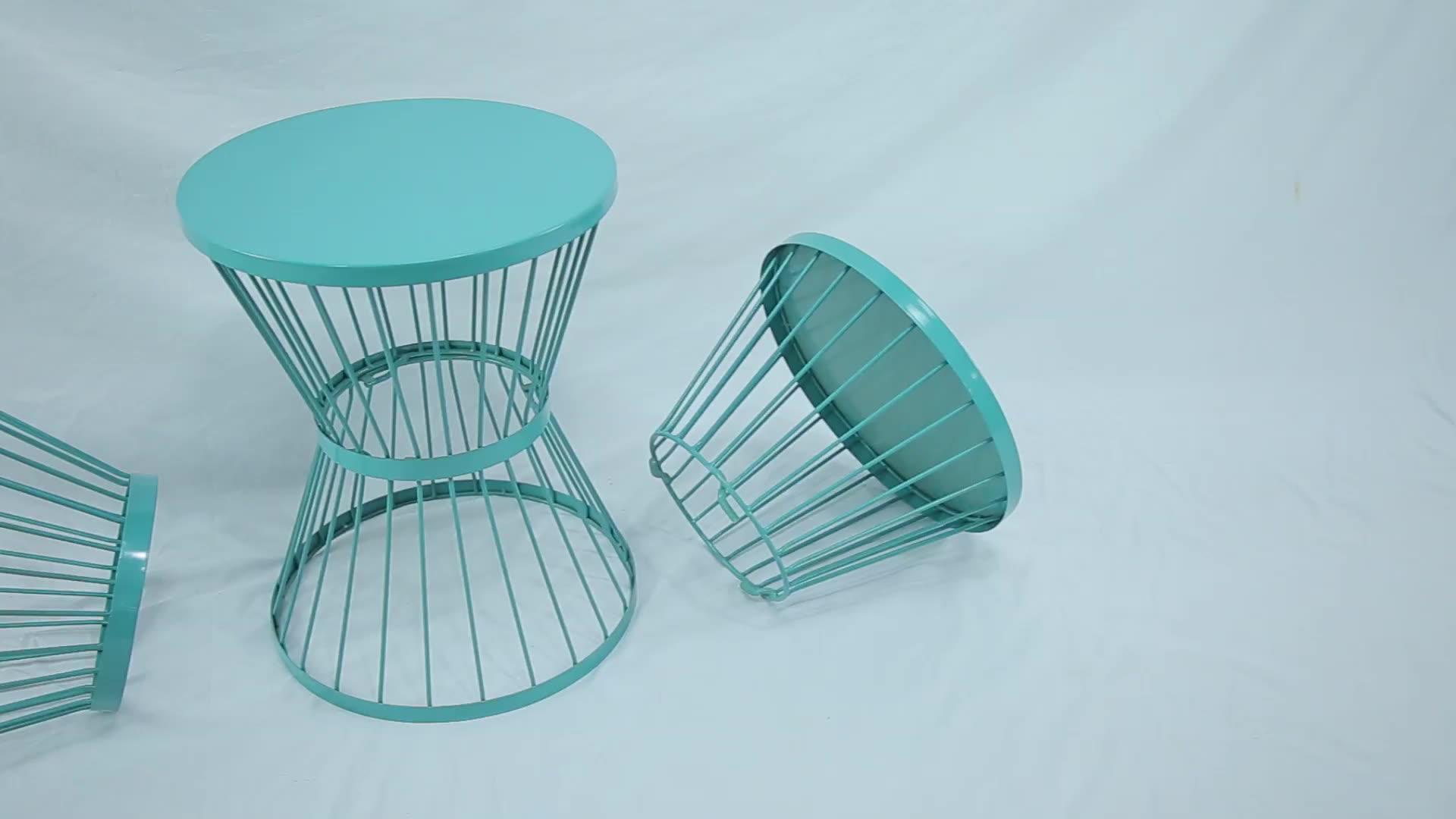 Vente chaude meubles de salon de table basse moderne table d'appoint design