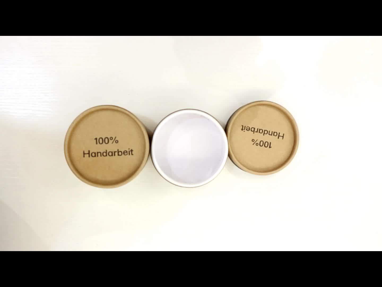 Таможня чай бумажная трубка печатная картонная трубка упаковочная цилиндрическая крафт-бумага трубка