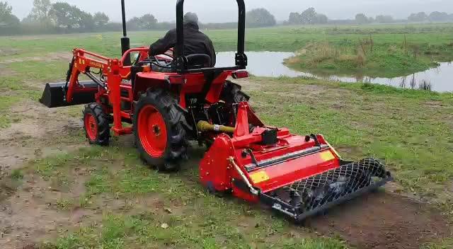 Landbouwmachines 3 Point Rotary Tiller Steen Burier Met Ce