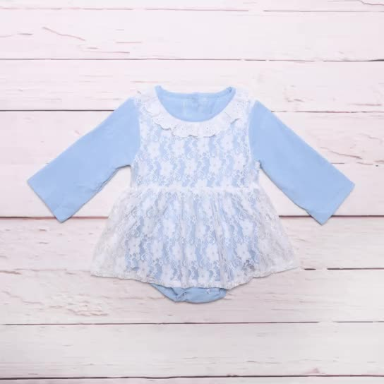 CONINE NINI Style High Quality romper 100% Cotton Fabric for romper Lace Baby romper