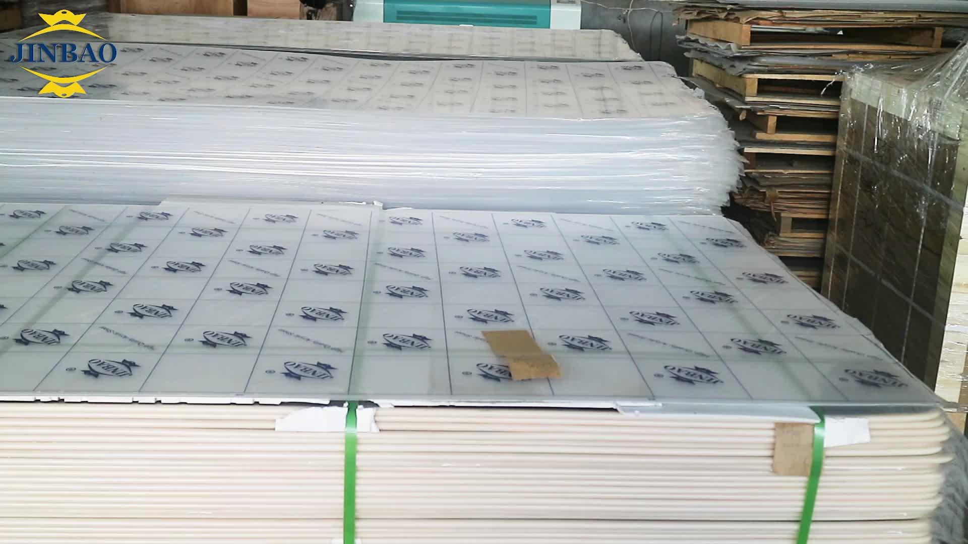 JINBAO transparant clear gegoten acryl glas vel 3mm 4mm plexiglas board reclame prijs