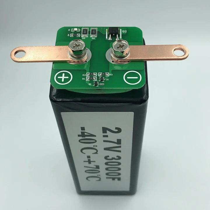 Magazzino Piazza 2.7V3000F Super Alta 3000 Farad Condensatore 2.7V Batteria 3000F Trasporto Libero