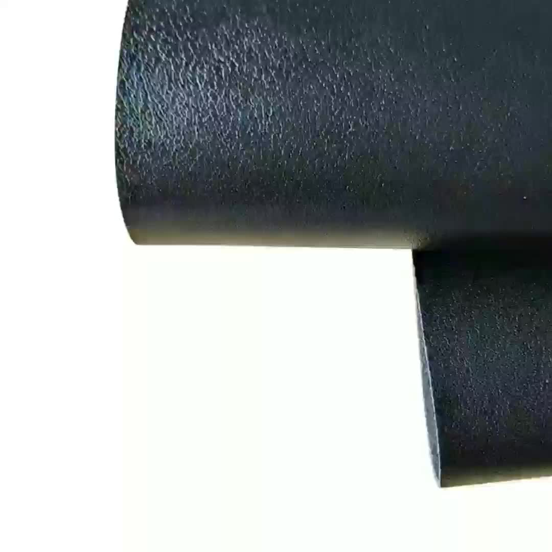 Patent non-toxic eco  PU synthetic leather material for women's leather boots