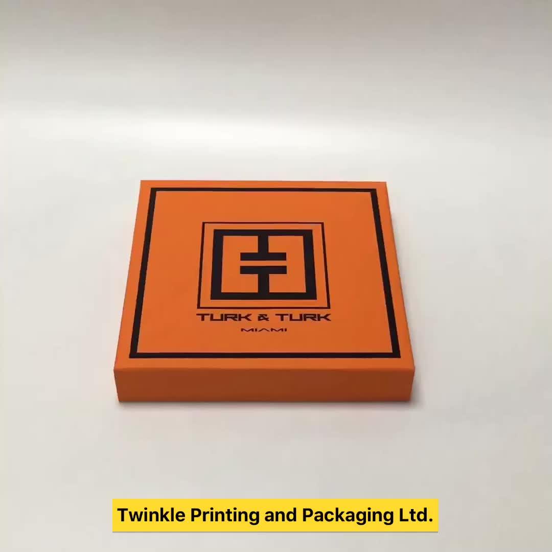 OEM logo afdrukken sjaal verpakking met hoge kwaliteit fabriek in Shenzhen