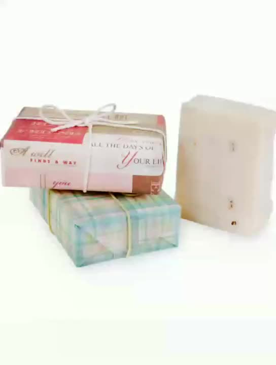 Printed Logo Designed Moisture Proof Soap Wrapping Paper