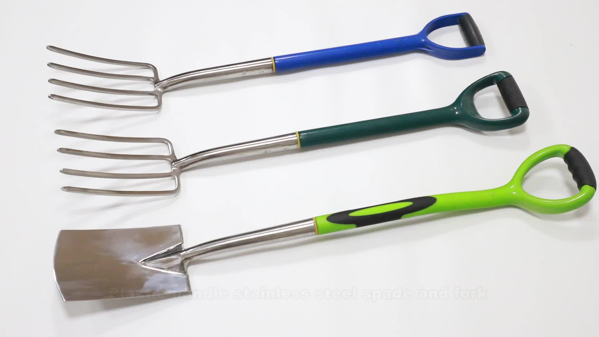 FSC ash wood handle, high quality, carbon steel head, Spade& Fork