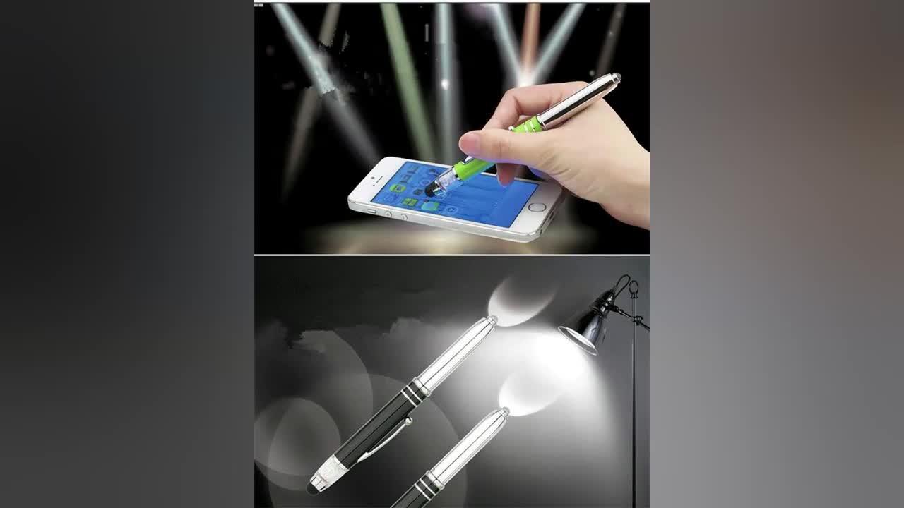Top-grade metal detectable pens free ink roller pen with logo metal detectable pens for promotion