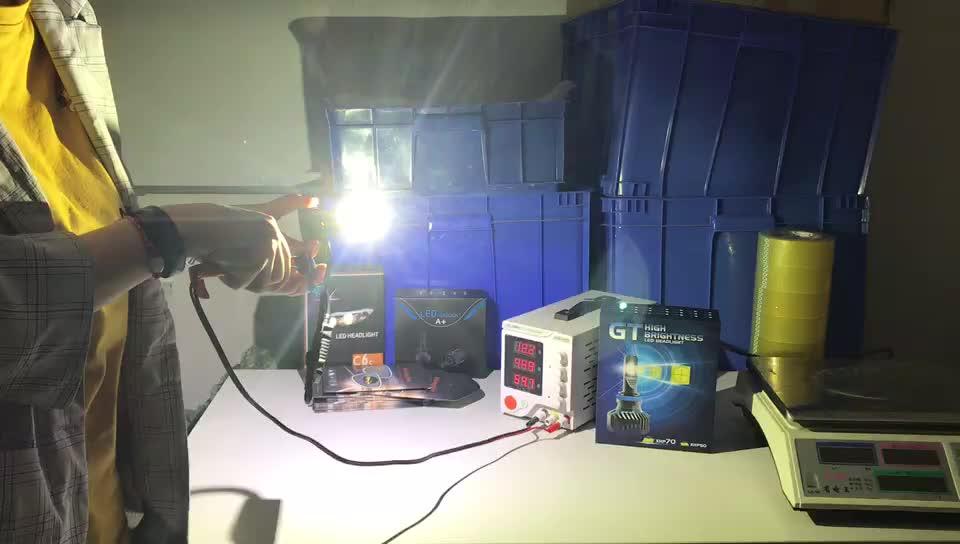 Super bright XHP70 CR chip 90W 9000 lumen H1 H3 H7 H4 HB3 HB4 9005 led headlight bulb