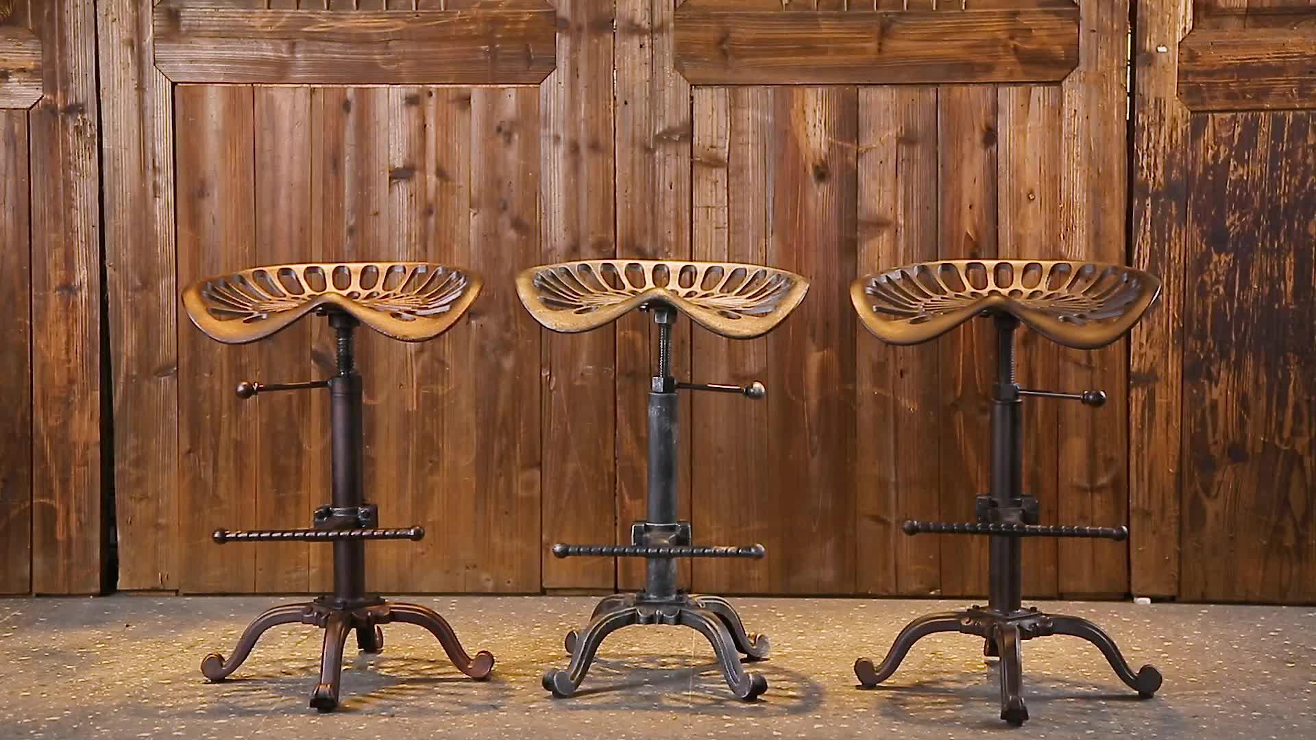 vintage swivel counter stools metal industrial furniture bar stools