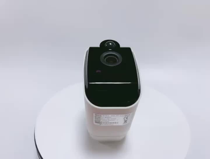 नई वायरलेस अल्ट्रा-कम पावर बैटरी कैमरा सुरक्षा 1080P HD सीसीटीवी वायरलेस वाईफ़ाई आईपी कैमरा के साथ संगत एलेक्सा