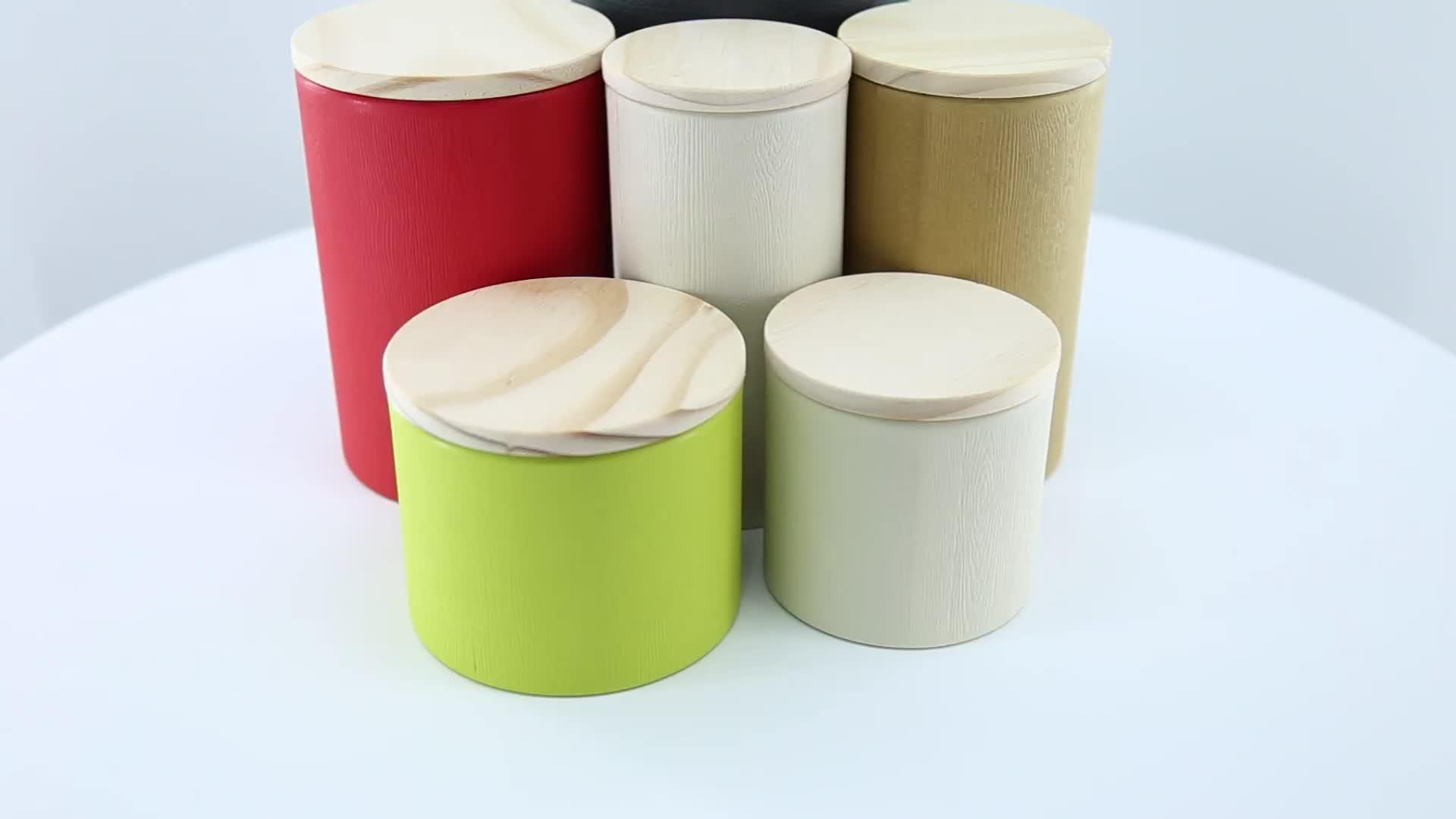 Tianhui Luftdicht Küche Zucker Kaffee Tee-Sets Papier Kanister