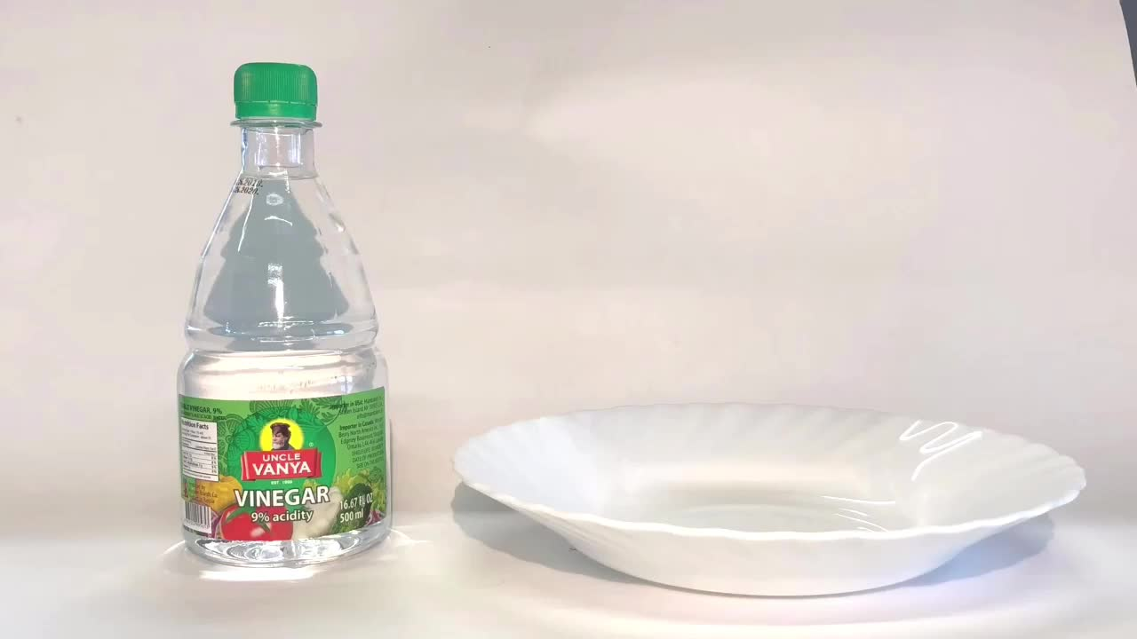 White Vinegar 9% 0,5L bottle