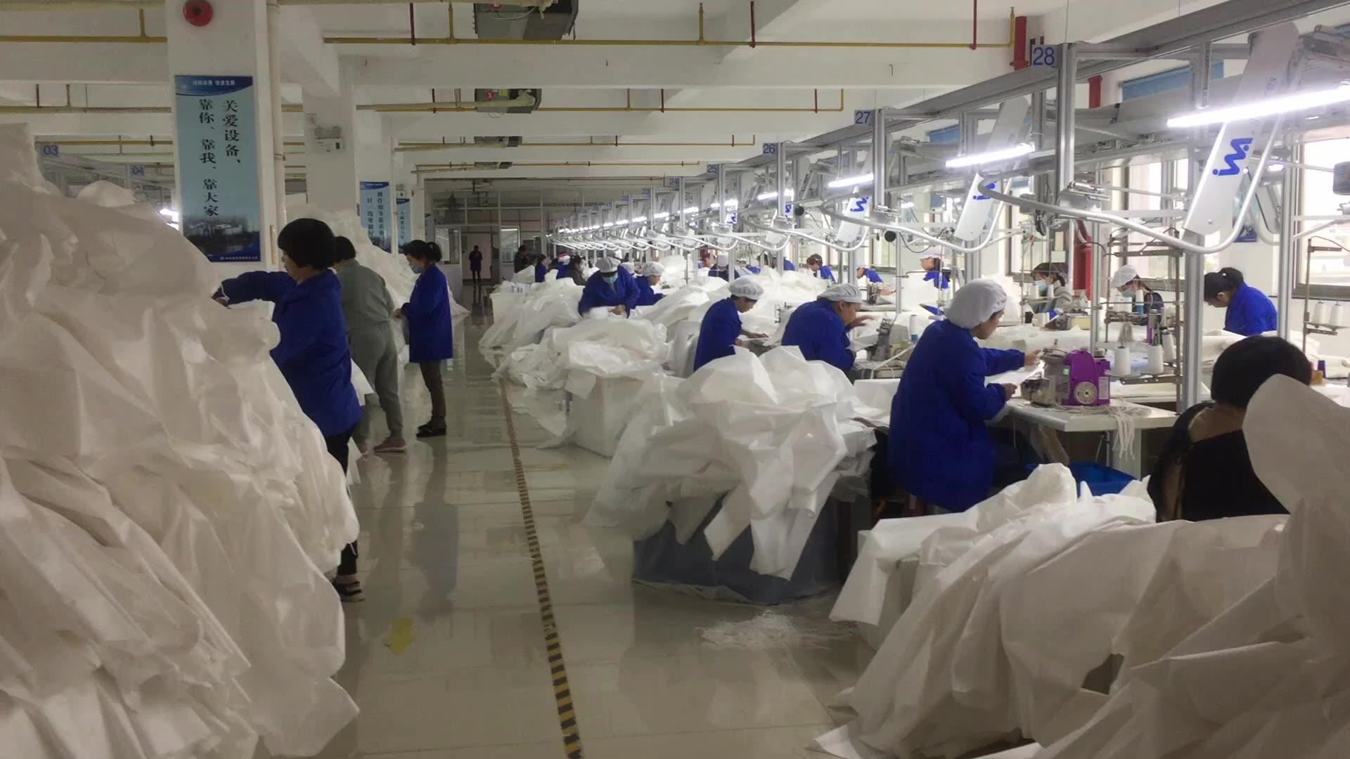 医療カバーオール不織布分離スーツカバーオール外科使い捨て防護服
