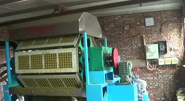 小型製造機卵トレイカートンマシン紙卵トレイマシン