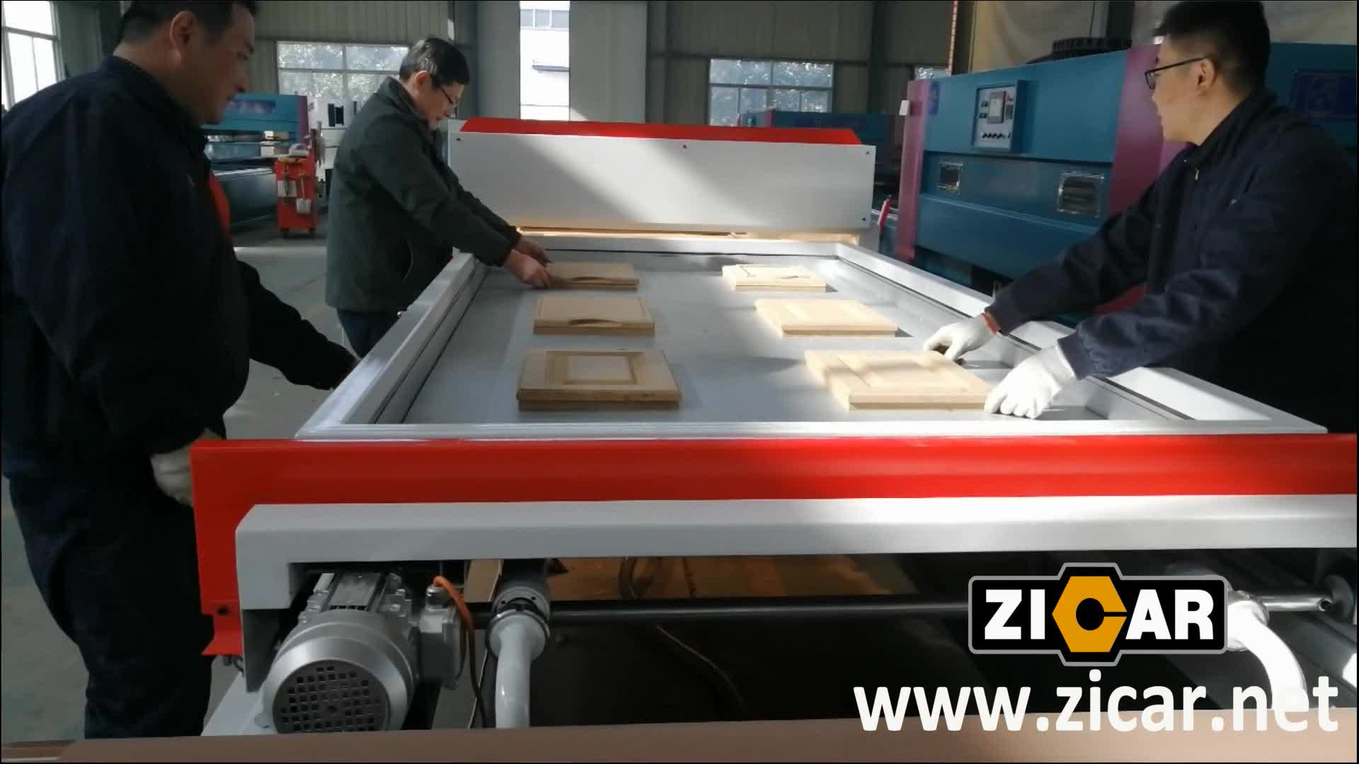 ZICAR TM2480 PVC Foil Vacuum Membrane Press Machine