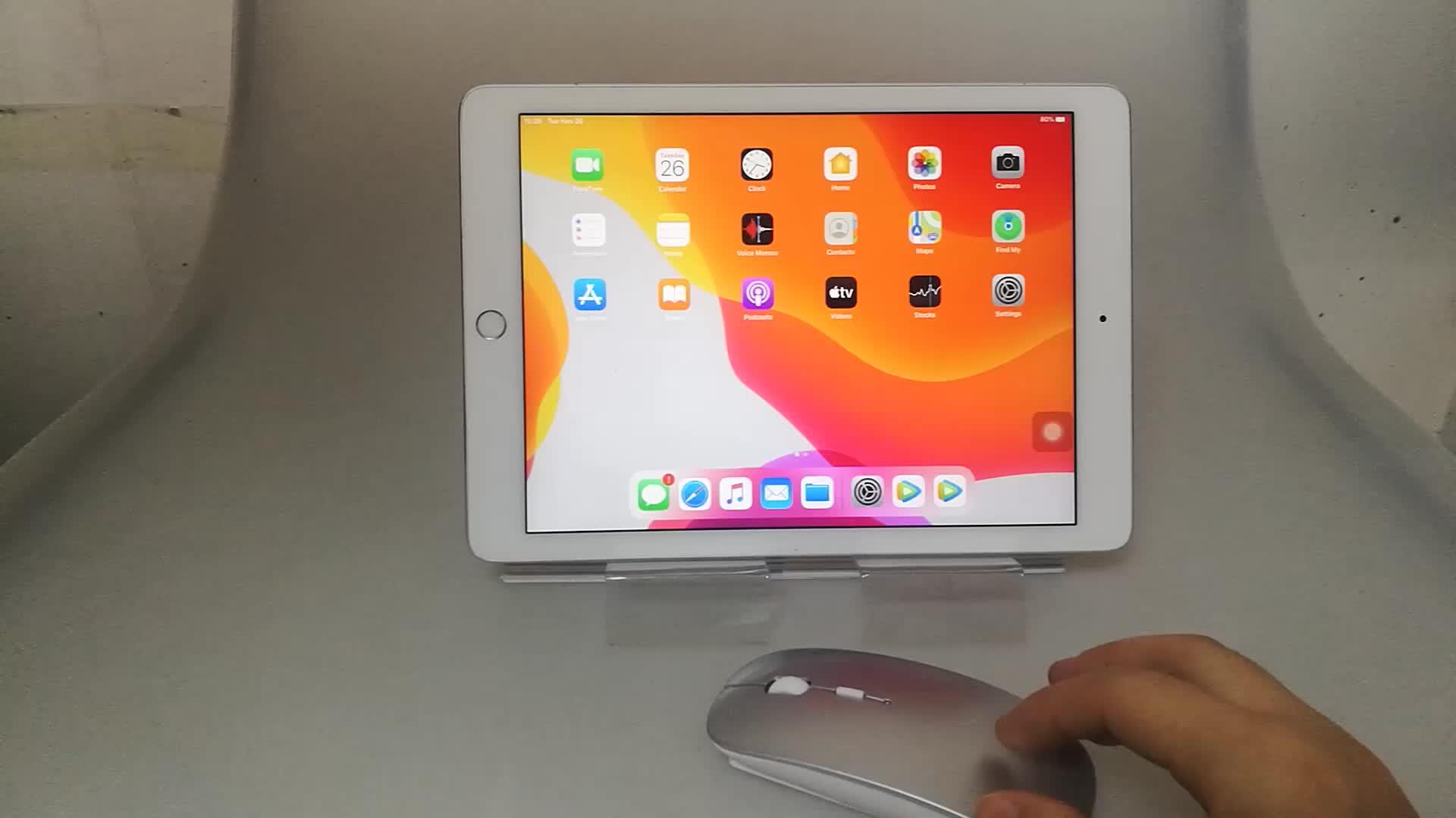 SUNGI Bonne Qualité Sans Fil Muet Souris Bluetooth avec Batterie Au Lithium Rechargeable pour iPhone iPad Macbook