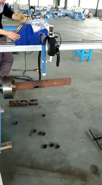 Otomatis CNC Orbital Mesin Pemotong Pipa dengan Plasma Cutting Alat
