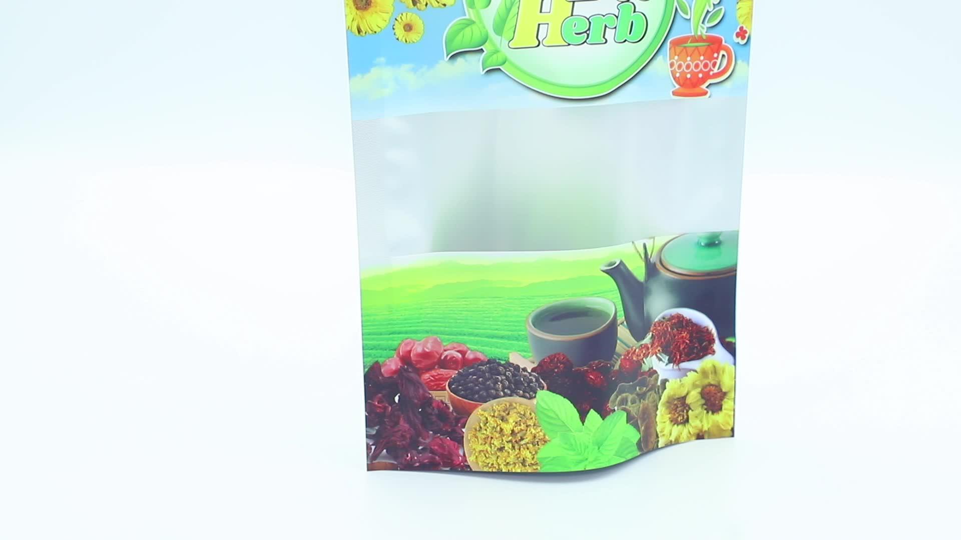 מותאם אישית צבעוני משולש בצורת פלסטיק שקיות ממתקי מזון שונה צורת אריזת תיק