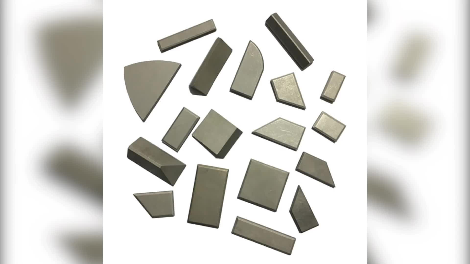 Tungsten carbide points with different size for agriculture soil preparation