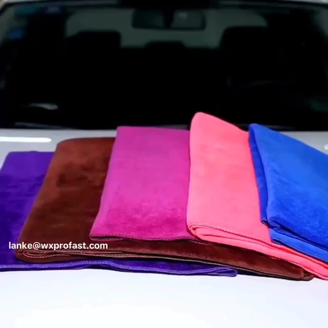 Auto Detaillierung Produkte Verschiedene Farben 400gsm Mikrofaser Auto Trocknen Handtuch Waschen Handtuch