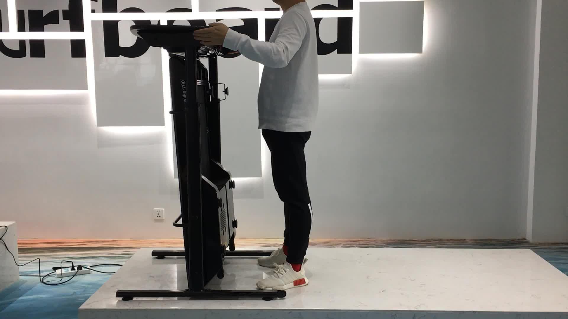 A จีน gym multi-function มอเตอร์เชิงพาณิชย์บ้านออกกำลังกายบาง body strong ไฟฟ้า DC มอเตอร์เดินโต๊ะลู่วิ่ง