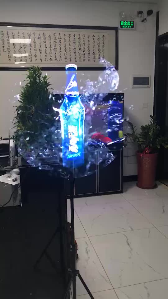 70 CM 3d hologram reclame 3d led hologram fan