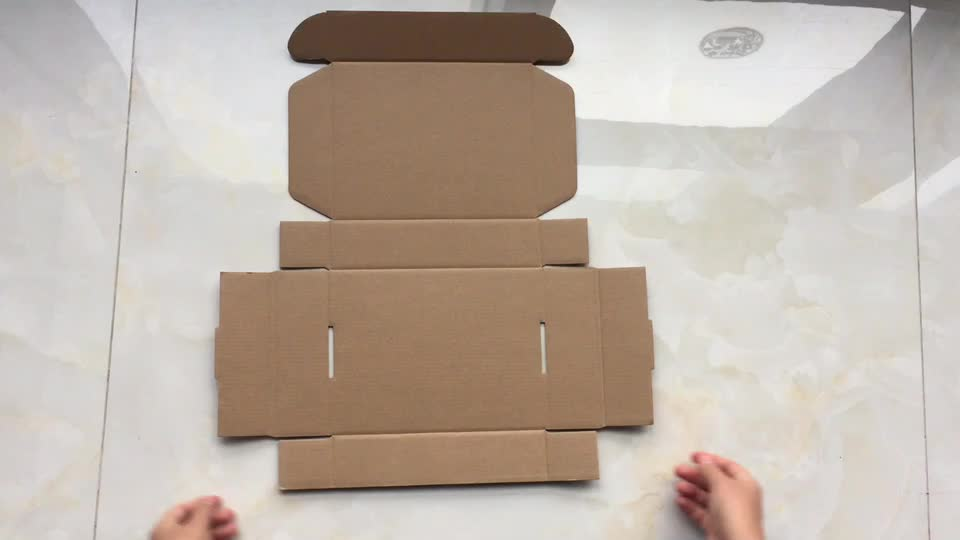 China Supplier Recycled Packaging Box Amazon E Commerce Mailer Shipping Folding Box