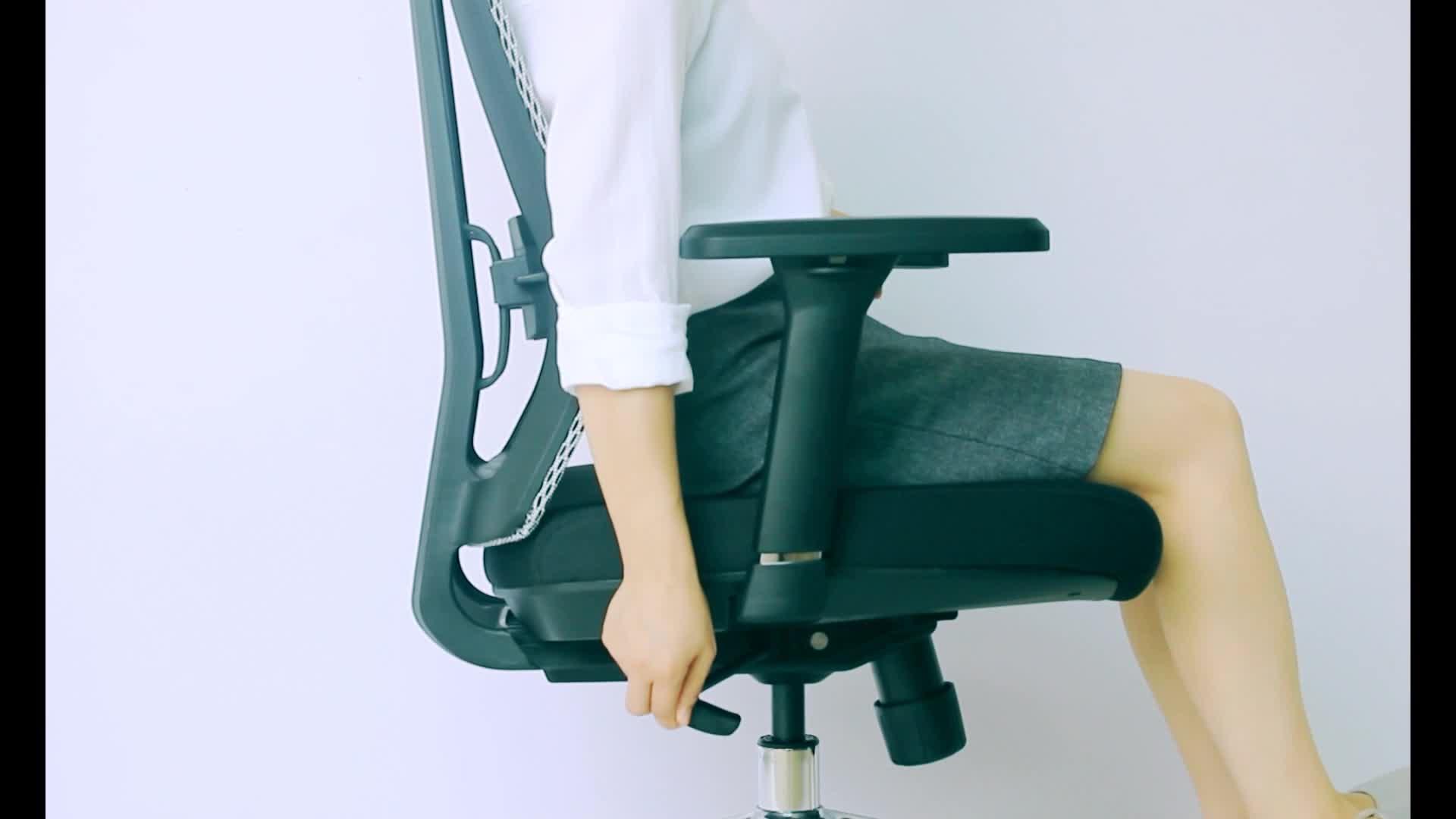 Modern ergonomic cheap sliding Swivel Lifting  strong Mesh office Chair