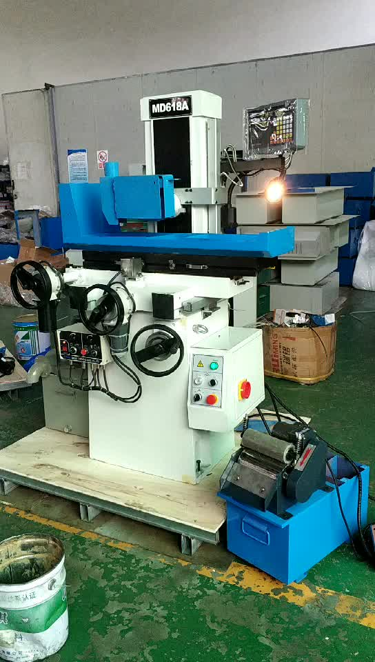 2019 auto feed surface grinding machine micro surface grinder price MD618A by electric