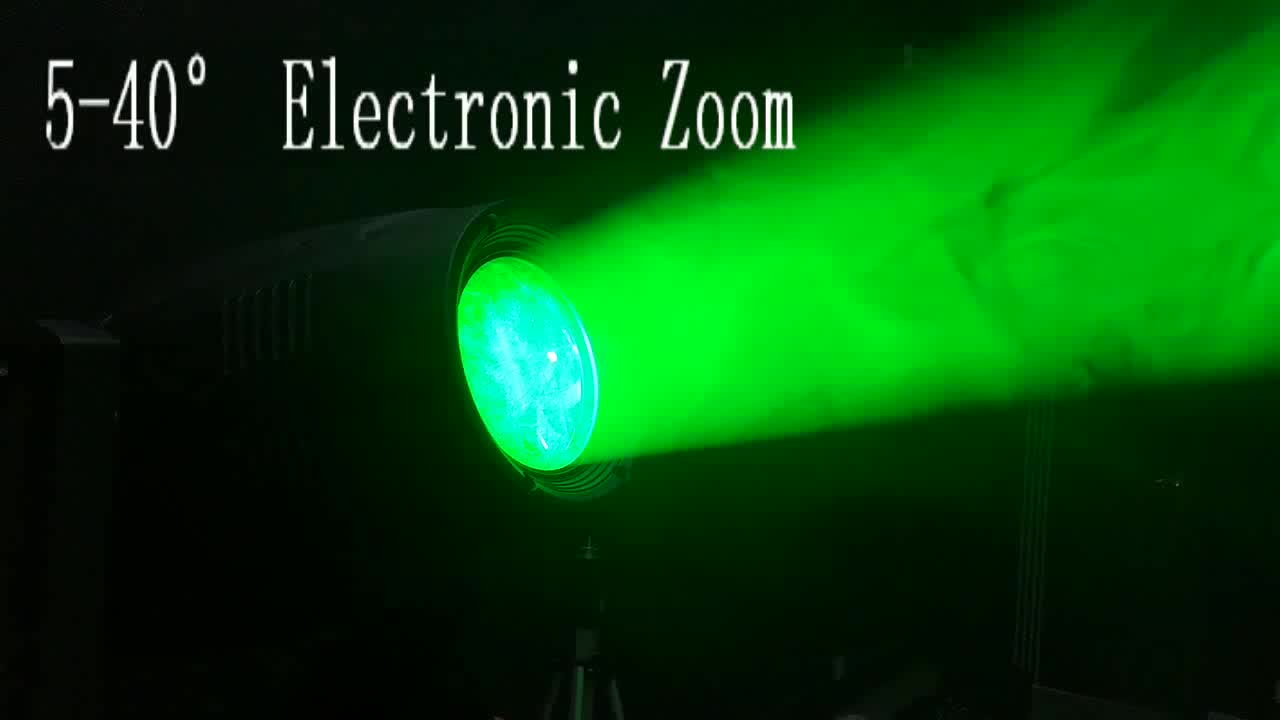 350 vatios 350 vatios 350 W batería de ordenador inteligente inalámbrico RDM CTO Iris rayo de zoom Spot Wash 3in1 CMY 300W LED luz principal móvil