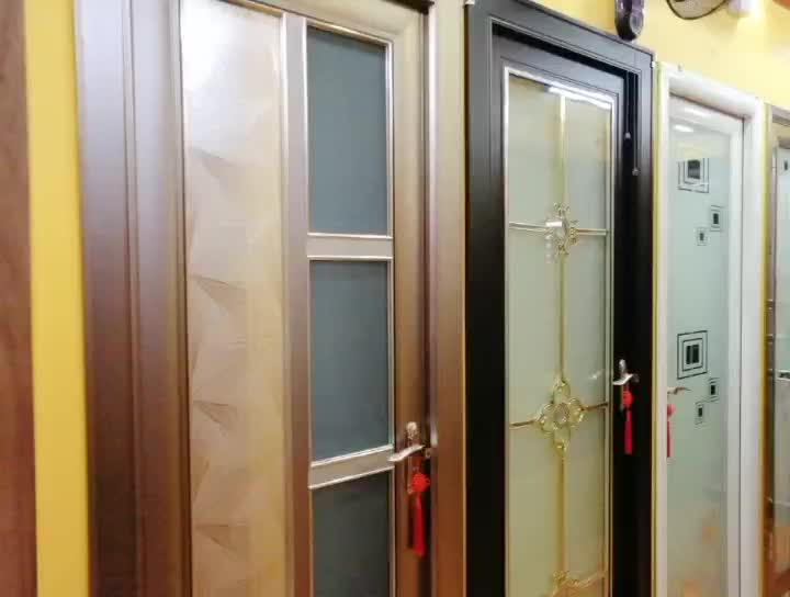 High Quality Aluminum Casement Doors Simple Design Glass Doors  Manufacturers