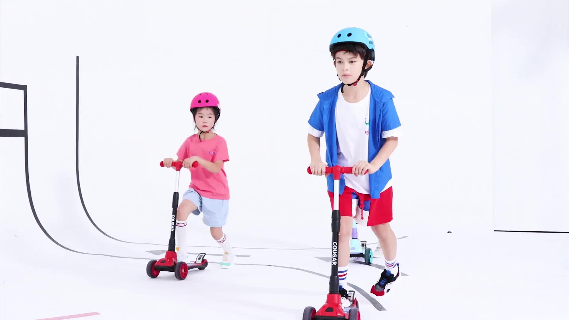 Nieuwe ontwerp kinderen gebruik scooter Guangzhou fabriek gemaakt kids kick scooter met seat