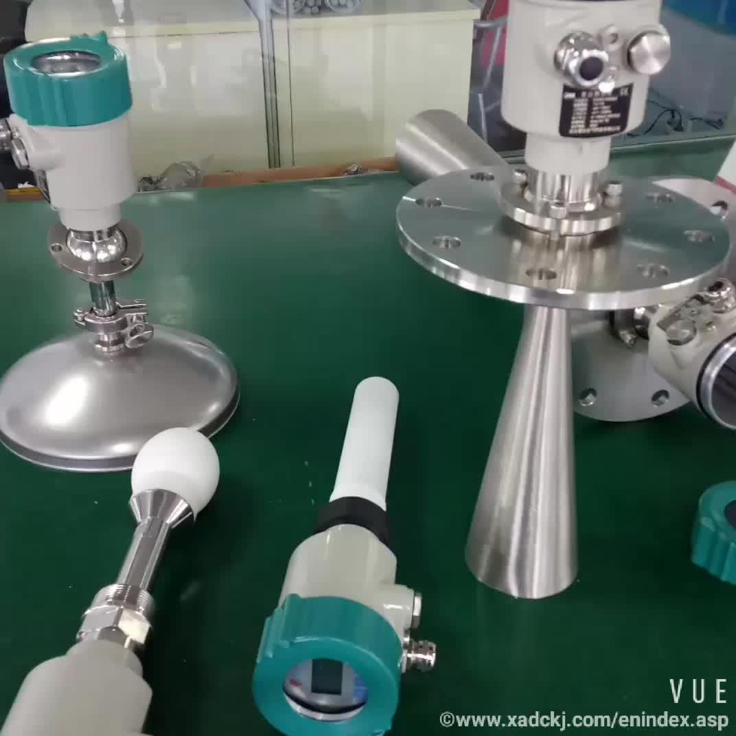 इलेक्ट्रॉनिक जल स्तर सेंसर रडार प्रकार पानी की टंकी स्तर सेंसर वायरलेस