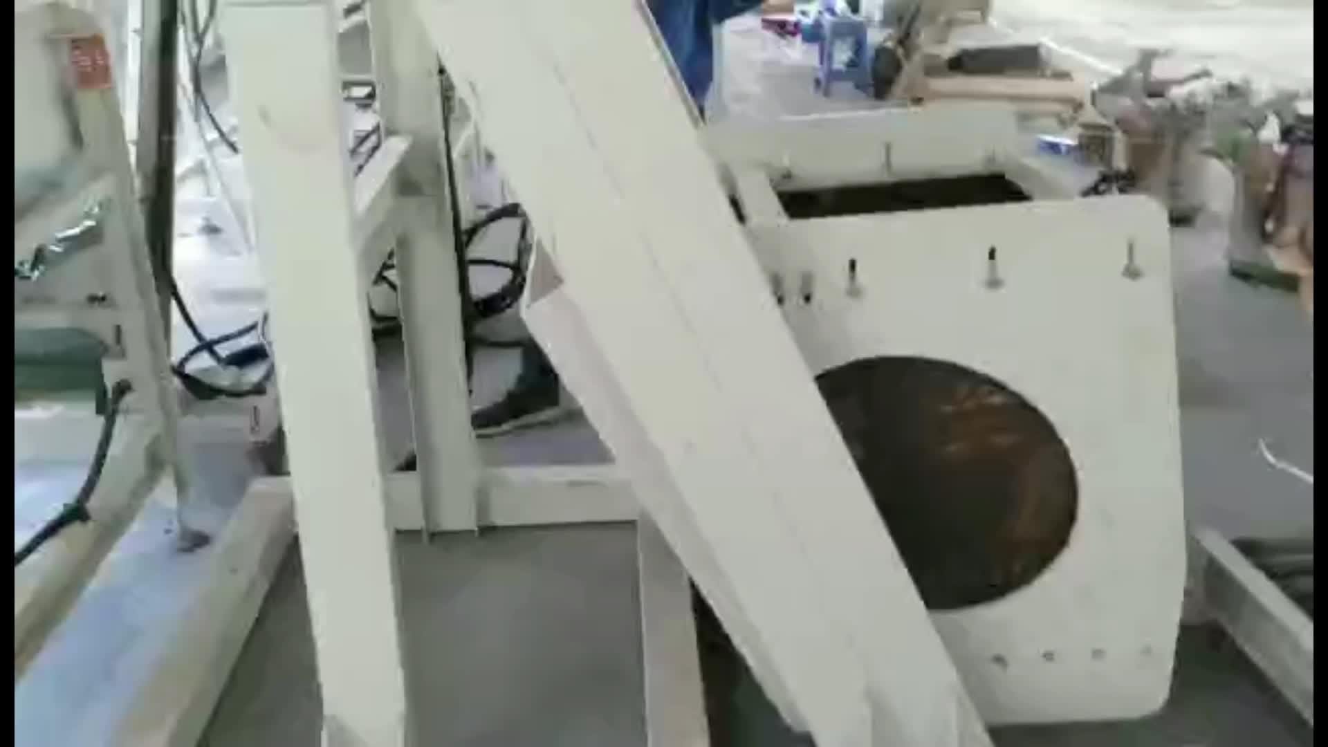 Tornillo máquina de embalaje caja de cartón máquina de cartón