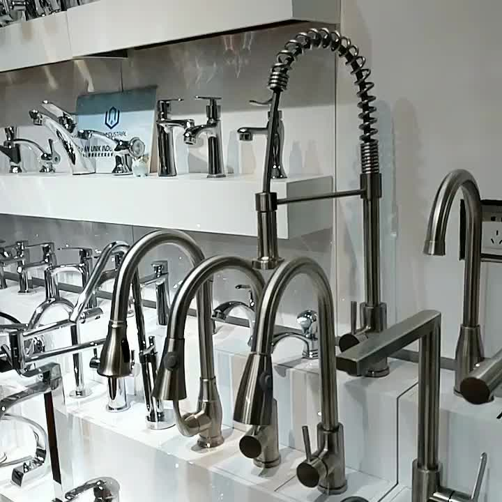 kitchen faucet made in china polishing plated flexible hose  southeast asian market