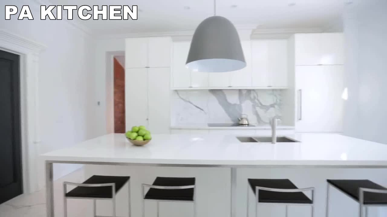 painting lacquer contemporary countertops curved high gloss kitchen cabinet