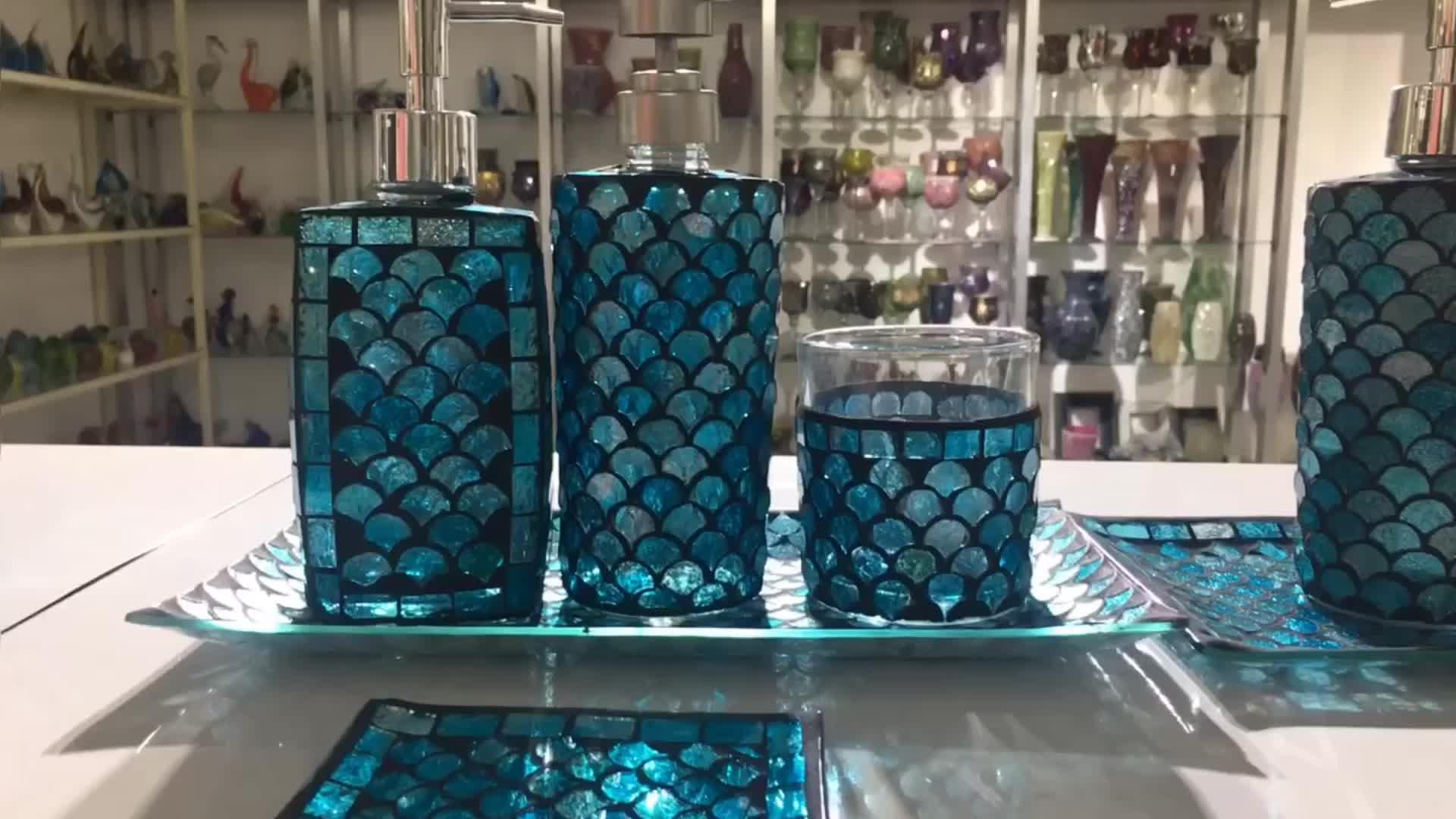 Venta al por mayor de vidrio de mosaico de jabón