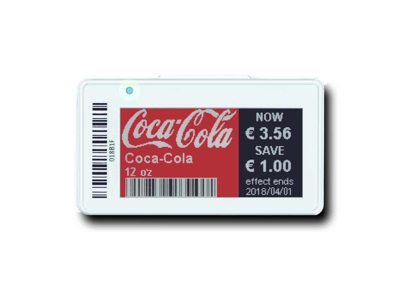 סאני E-נייר אלחוטי מחיר תג 2.13 אינץ 3 צבע עבור הקמעונאי חנות