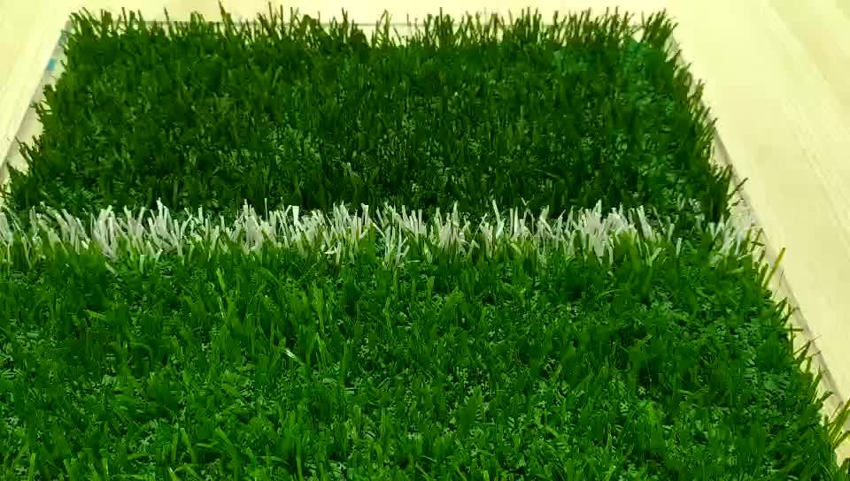 Tencate tamponamento 50 millimetri di erba artificiale tappeto erboso utilizzato per campi sportivi, erba Sintetica prato per campi da calcio