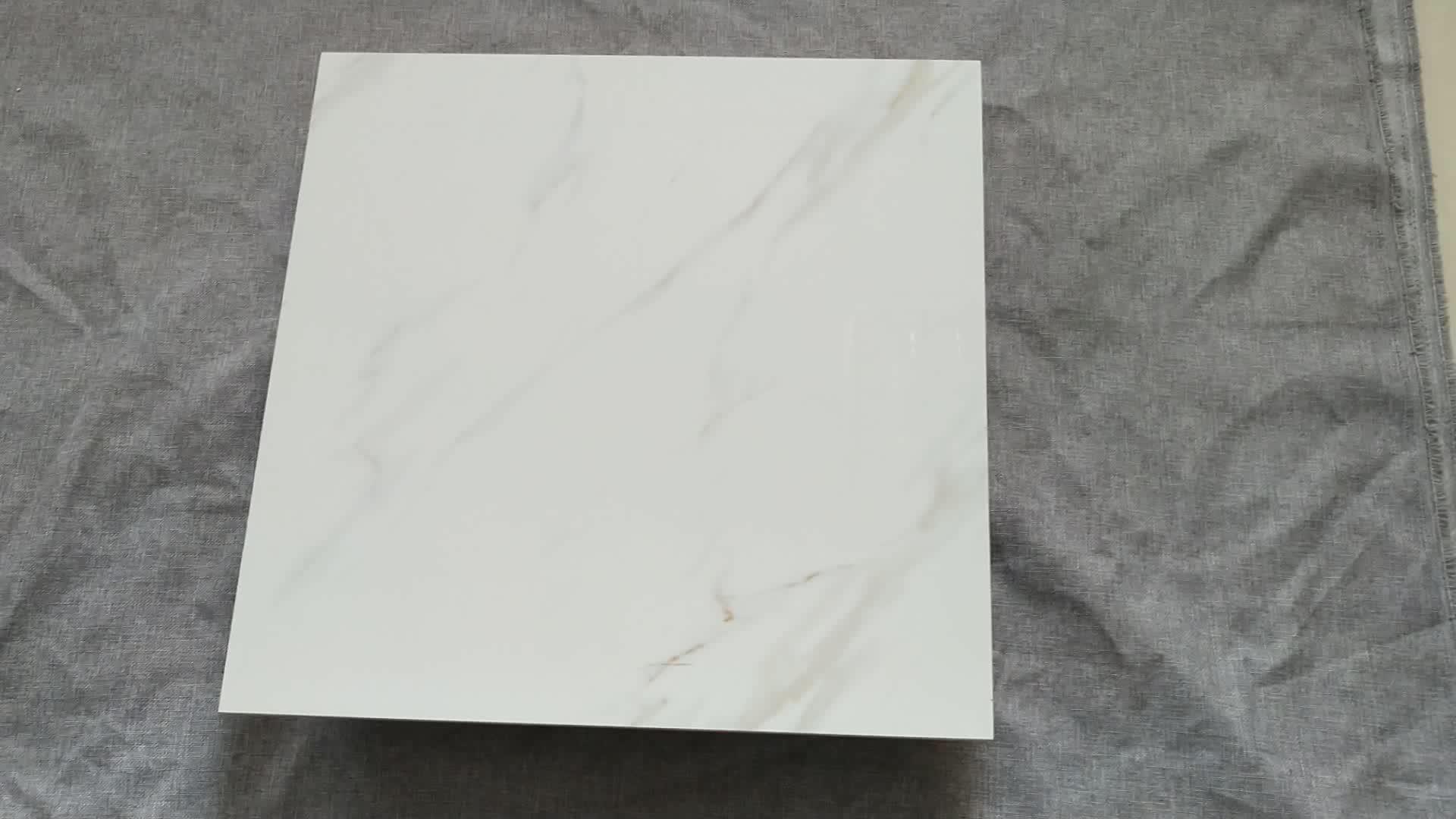60*60 センチメートル高輝度磁器セラミック床タイル