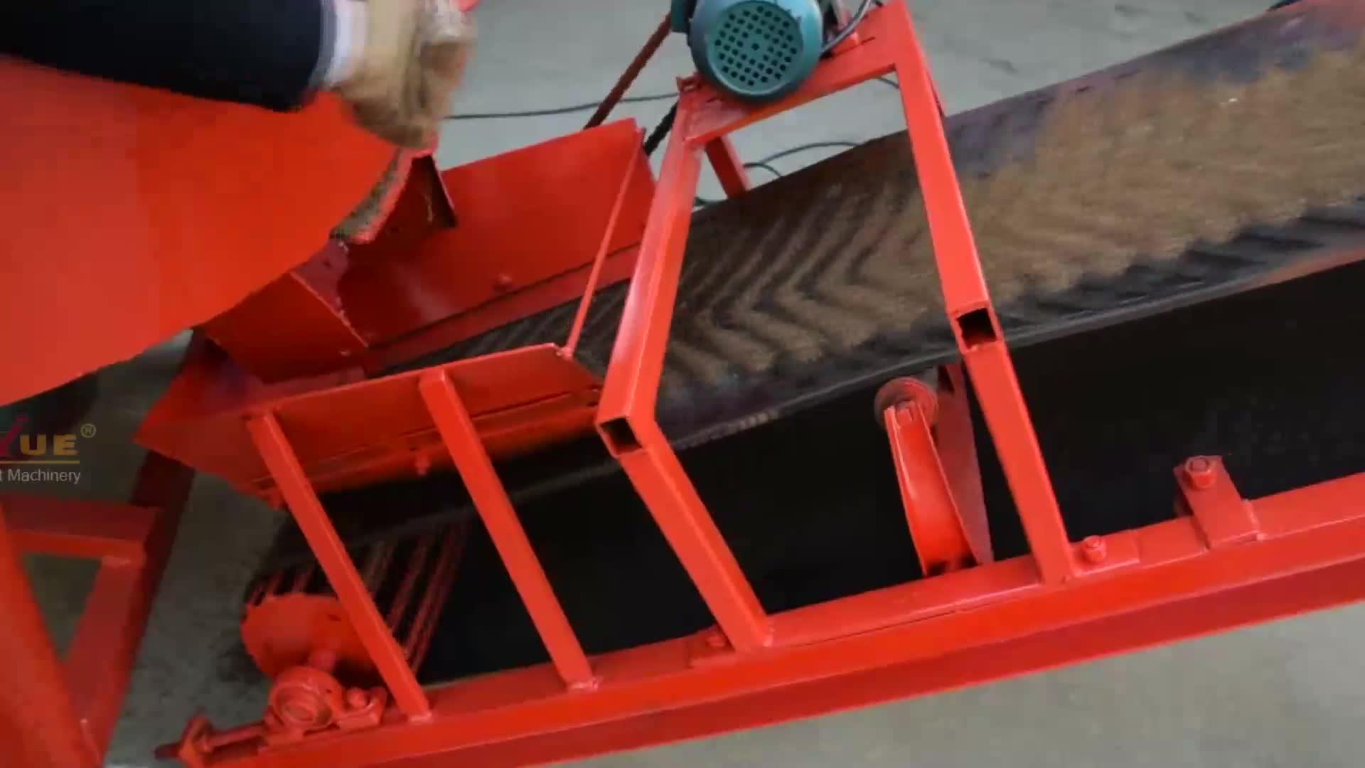 LY1-10 mud soil clay cement interlocking brick making machine