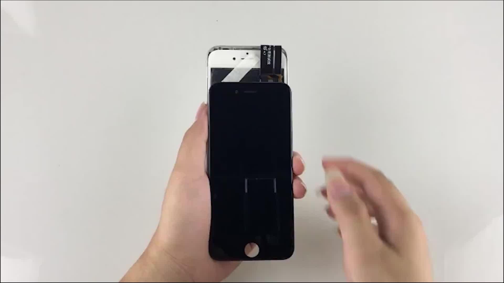 Vanda e tela sensível ao toque digitize para iphone 5 5S tela lcd oem