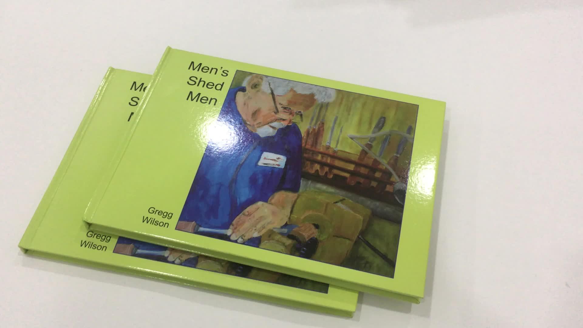 Serviços de impressão de papel personalizado educacional crianças livro de registro de música e crianças falando livro placa de som impressão do livro