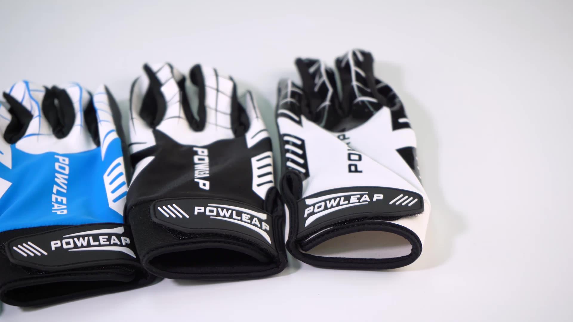 Stretchable Breathable Baseball Batting Gloves Comfortable Leather Softball Sports Gloves Men Women