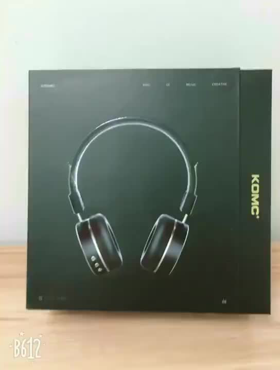 Sample Available Stainless Steel Earlap Bluetooth Stereo Headset, Can be Wired Universal Heavy Bass Headphone~