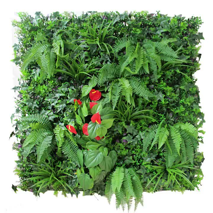 2019 Blanket Plant Wall Plastic Artificial Plant Wall