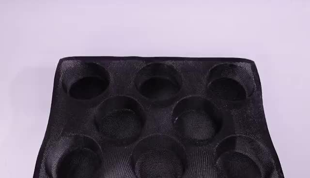 Silicone Non-stick Perforated Silicone Baguette Bread Form Mold